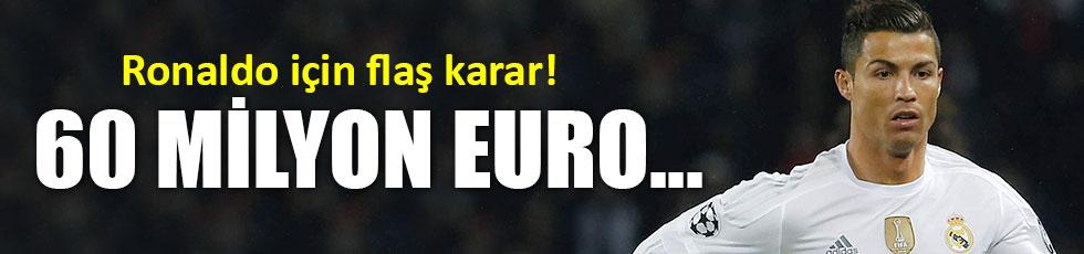 Ronaldo, ayrılıyor