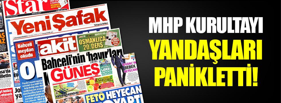 Mahkemenin MHP kararı yandaş basını panikletti