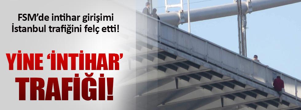 İstanbul'da yine 'intihar' trafiği