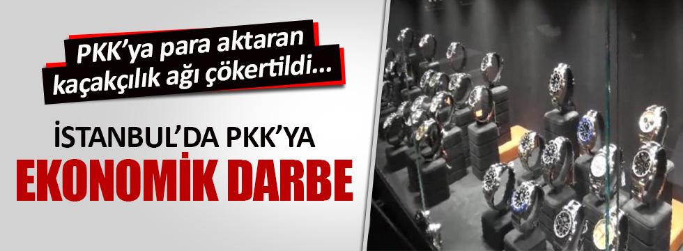İstanbul'da PKK'ya ekonomik darbe