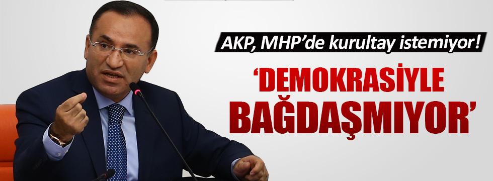 Adalet Bakanı Bazdağ'dan kritik MHP yorumu
