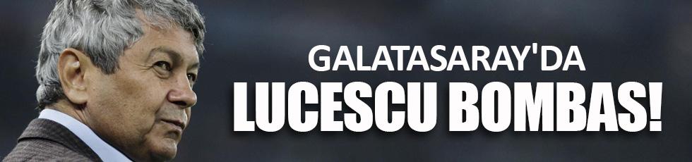 Galatasaray'da Lucescu bombası
