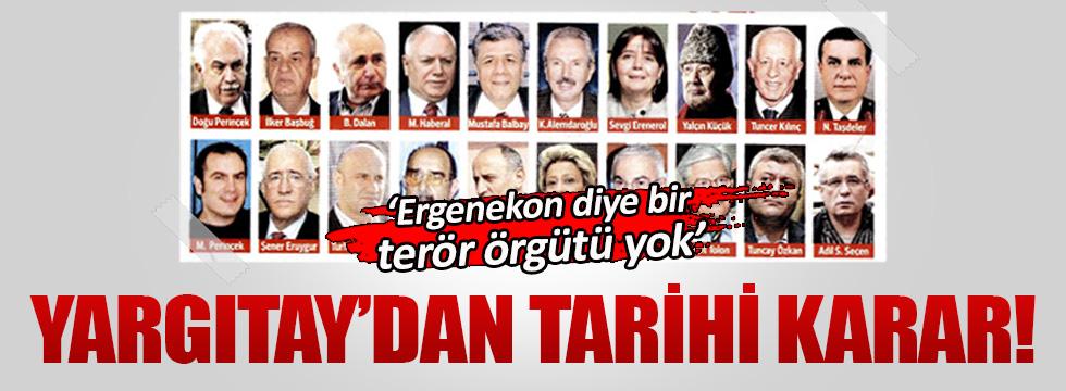 Ergenekon davasında tarihi karar!