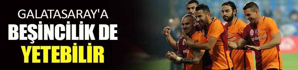 Galatasaray'a beşincilik de yetebilir
