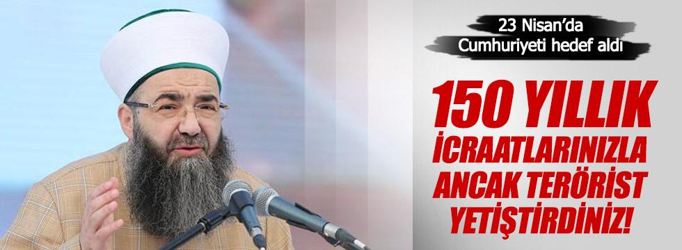 Cübbeli Ahmet'ten 23 Nisan ve Cumhuriyet'e hakaret!