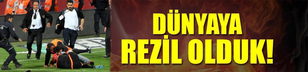 Trabzon'daki rezalet dünya basınında