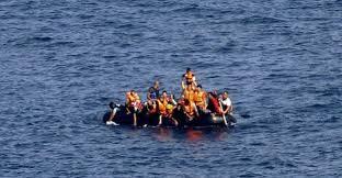 Akdeniz'de sığınmacı botu battı