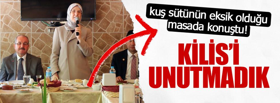 Ramazanoğlu'ndan kahvaltı masasında Kilis açıklaması