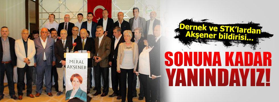 Rumeli Balkan Türklerinden Akşener'e destek