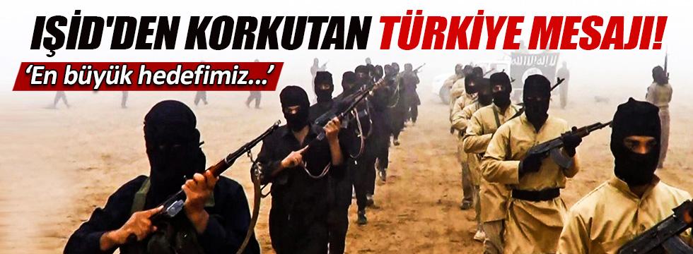 IŞİD'den korkutan Türkiye açıklaması!