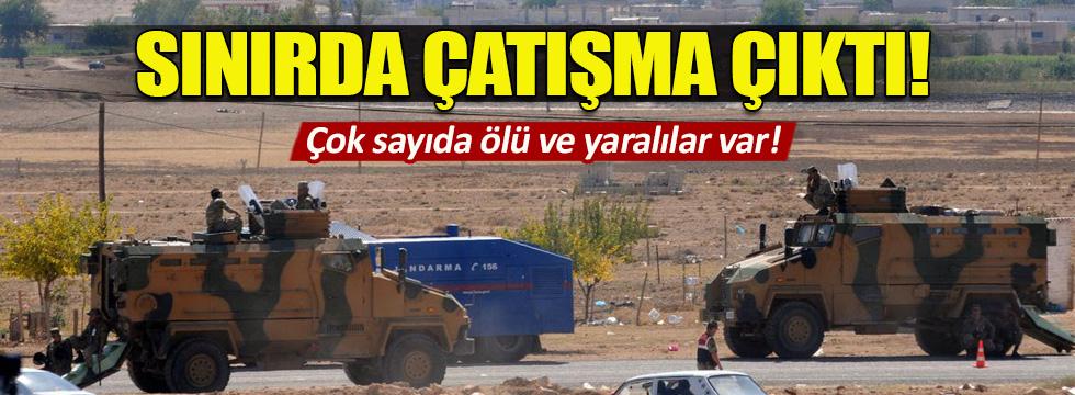 Gaziantep'ten Suriye'ye geçmek isteyen 3 IŞD'li öldü, 11'i yaralandı