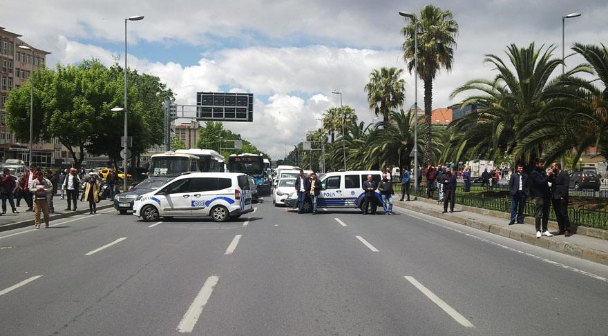 Vatan Caddesi'nde bomba paniği