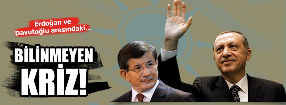 Erdoğan ve Davutoğlu Arasındaki Hiç Bilinmeyen Kriz