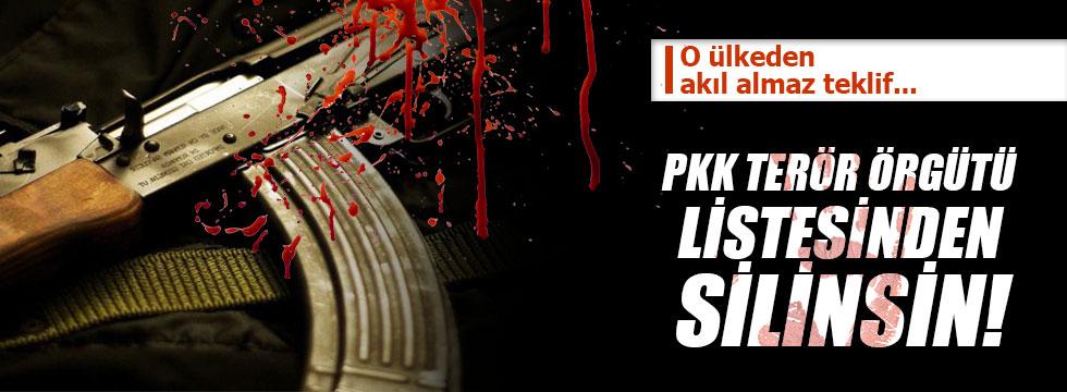 """""""PKK AB'nin terör örgütleri listesinden silinsin"""""""