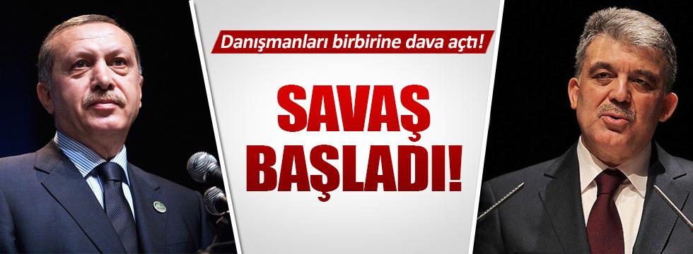 Erdoğan'ın danışmanı Gül'ün danışmanına dava açıyor