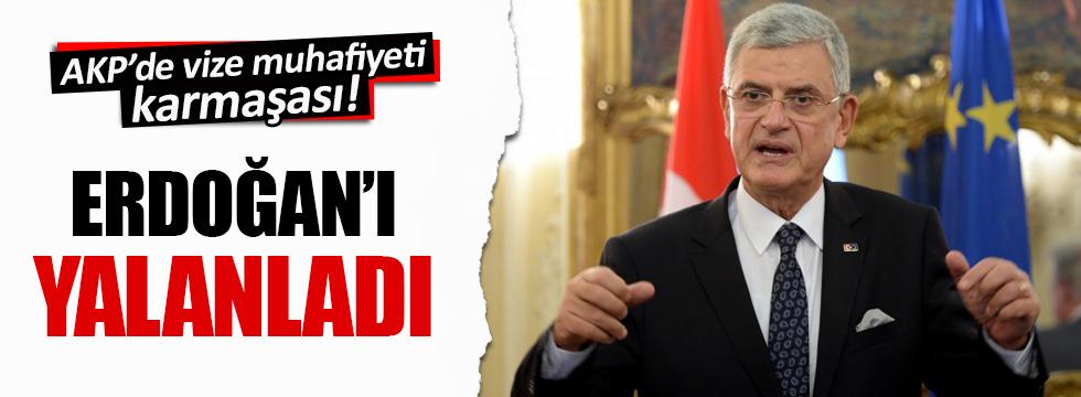 Volkan Bozkır: Vize muafiyetinin terör yasasıyla bir ilgisi yok