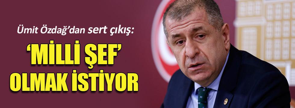 Ümit Özdağ'dan partili başkanlık sistemine sert tepki!