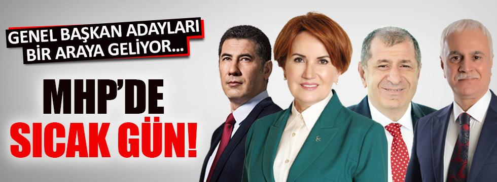 MHP Genel Başkan adayları bir araya geliyor