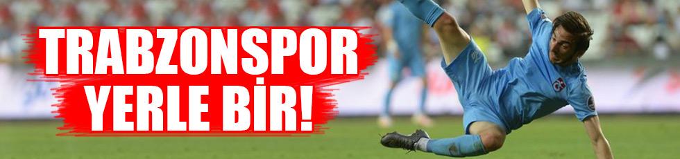 Trabzonspor yerle bir