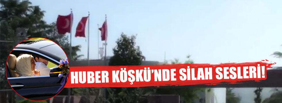 Erdoğan'ın korumaları havaya ateş açtı