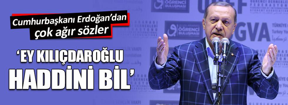 Erdoğan: 'Onlar kandan besleniyor, ben halkımdan besleniyorum'