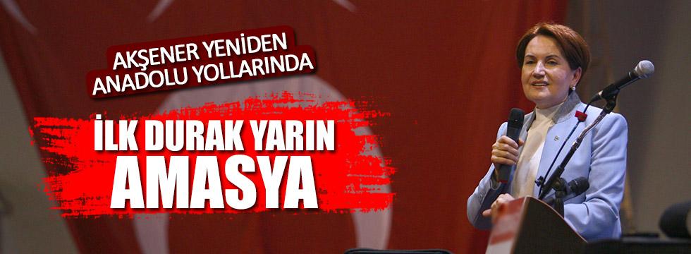 Meral Akşener'in Amasya Programı