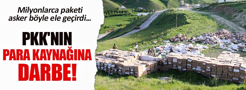 PKK'nın para kaynağına darbe!