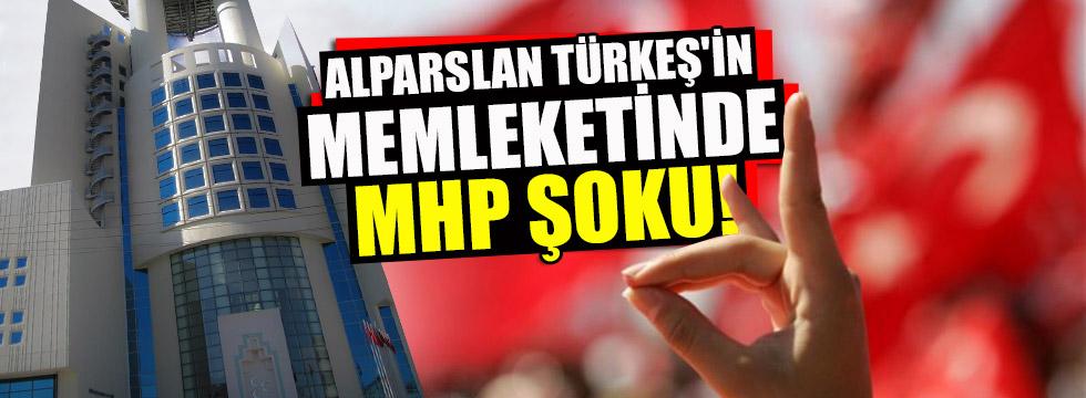 Alparslan Türkeş'in memleketinde MHP şoku