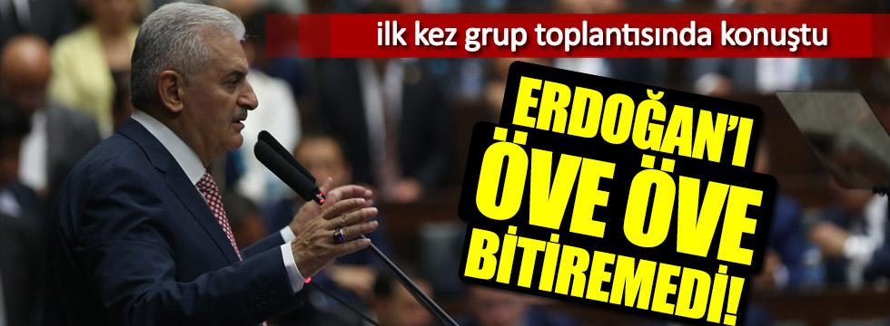Binali Yıldırım AKP Grup toplantısında ilk kez konuştu