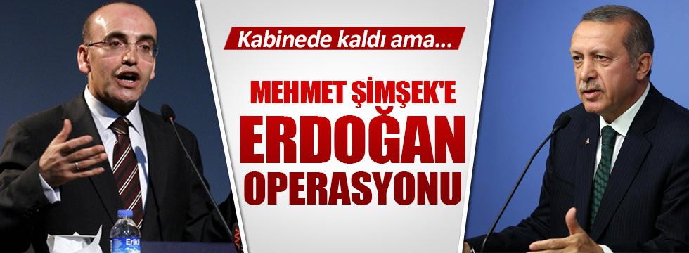 Mehmet Şimşek'e Erdoğan operasyonu