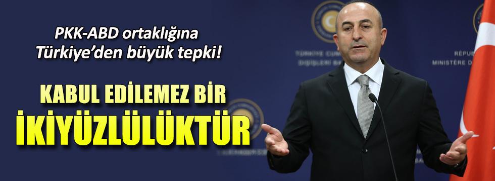 """Mevlüt Çavuşoğlu'ndan ABD'ye tepki! """"Kabul edilemez, ikiyüzlülüktür"""""""