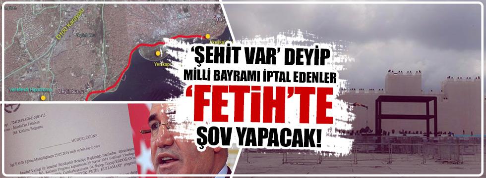 AKP, İstanbul'da 'fetih şov' yapacak