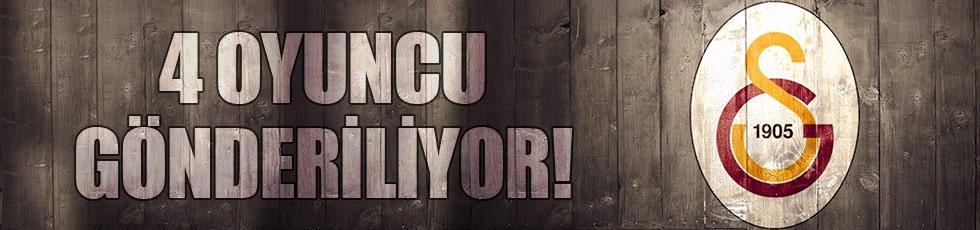 Galatasaray'da gidecek isimler belli oldu