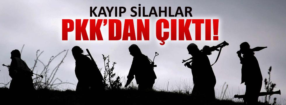 Kayıp silahlar PKK'ya verilmiş!