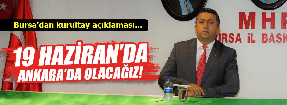 Bursa MHP'den Genel Merkez'i kızdıracak açıklama