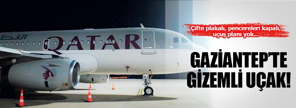 Gaziantep'te Katar uçağı gizemi