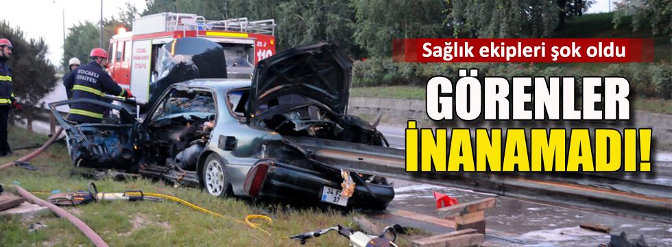 Kocaeli'deinanılmaz kaza: 1 ölü