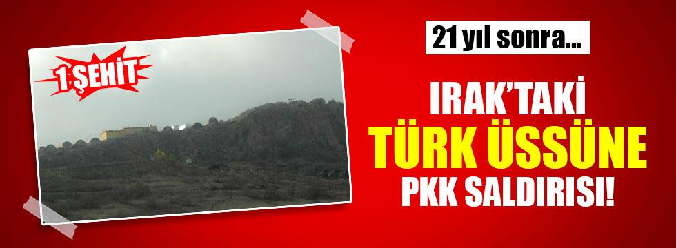 Irak'taki Türk Askeri Üssüne 21 Yıl Sonra İlk Saldırı