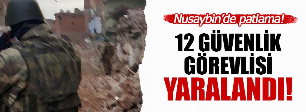 Mardin Nusaybin'de patlama