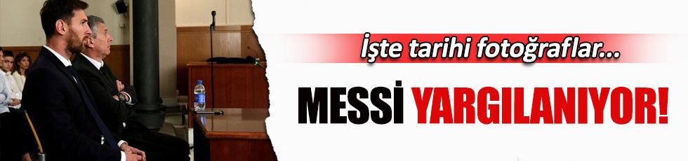 Messi hakim karşısında!