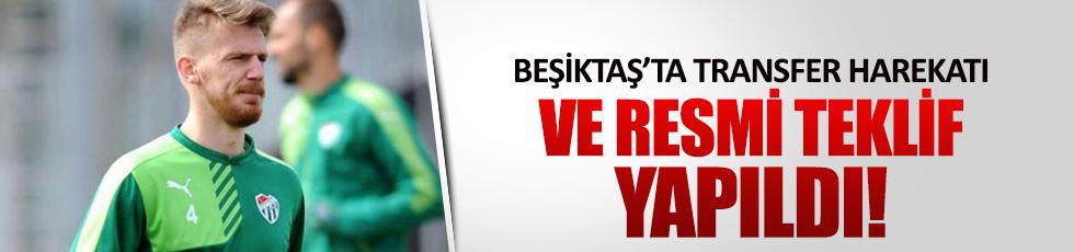 Beşiktaş, Serdar Aziz için Bursa ile resmen görüştü