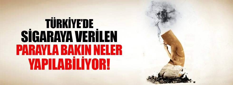 Türkiye'de sigara kullanımı korkutucu boyutta