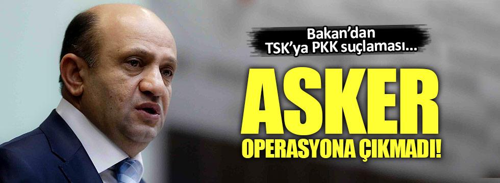 Fikri Işık: TSK operasyona çıkmadı