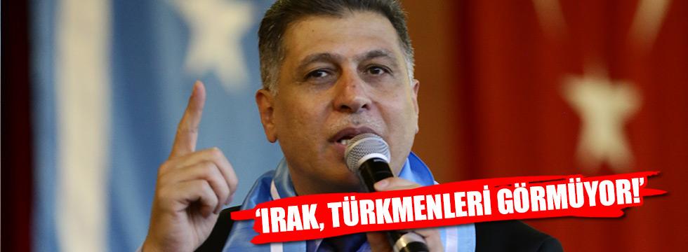 Maruf: Irak, Türkmenleri görmüyor