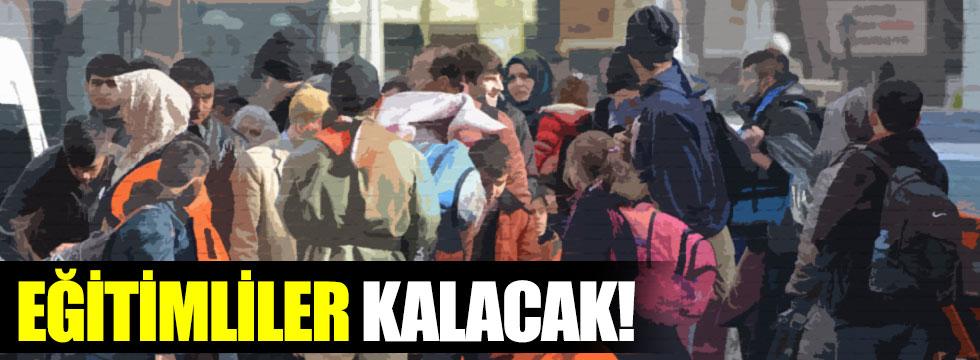 Eğitimli göçmene Avrupa kapıları kapatıldı