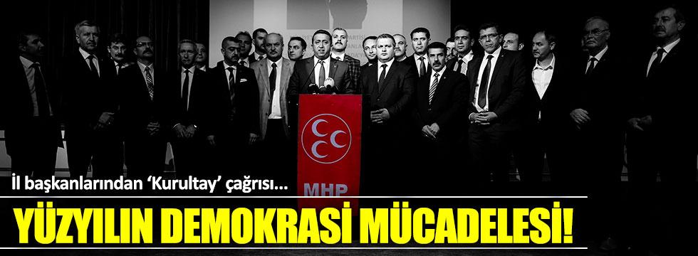İl başkanları 'Kurultay' çağrısı yaptı