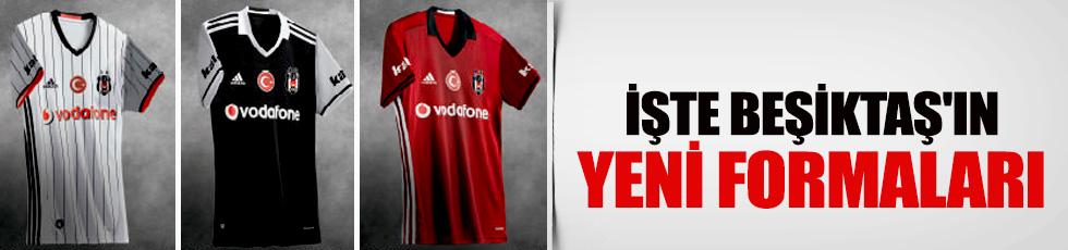 Beşiktaş'ın yeni sezon formaları resmen duyuruldu