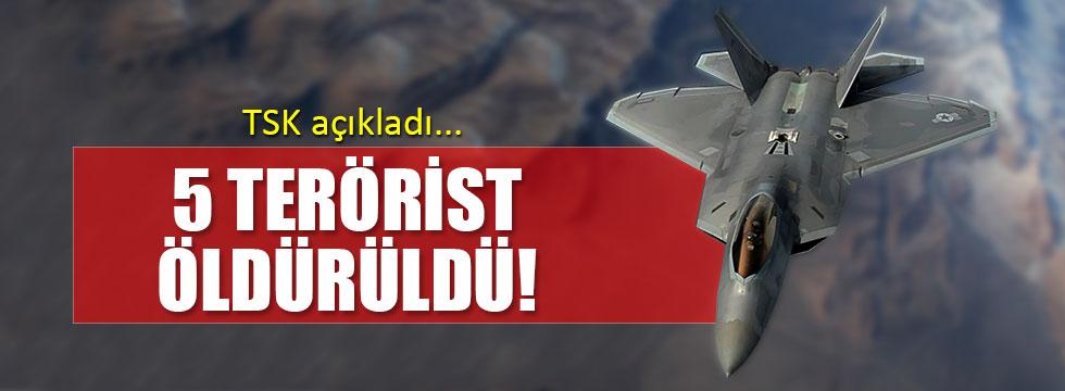 TSK, IŞİD ve PKK mevzilerini vurdu!