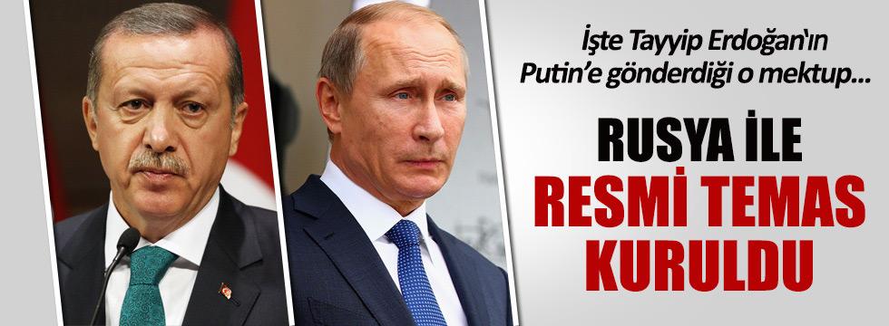 Rusya ile ilk resmi temas kuruldu!