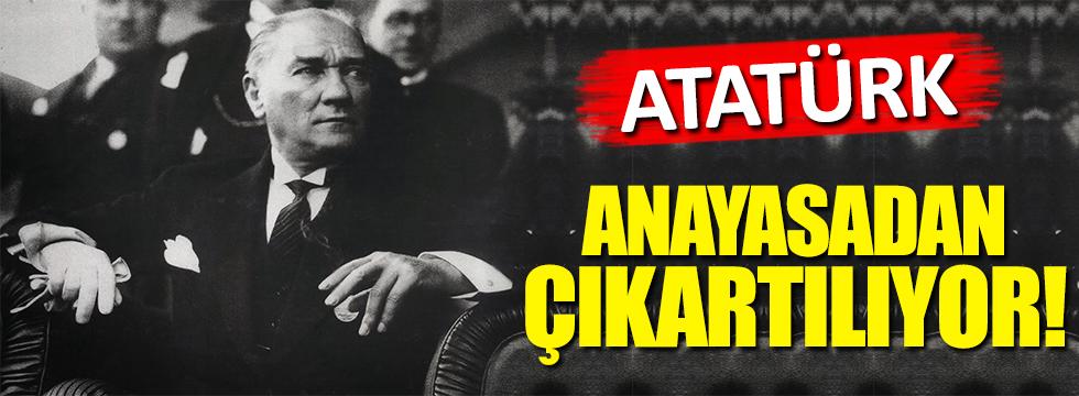Yeni Anayasada Atatürk skandalı!